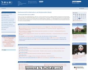 Bundesanstalt für Arbeitsschutz und Arbeitsmedizin - Praxis