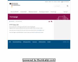 Bundesinstituts für Arzneimittel und Medizinprodukte