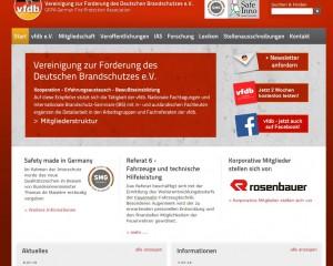 vfdb - Vereinigung zur Förderung des Deutschen Brandschutzes e.V.