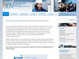 Industriegaseverband IGV, Informationen über technische Gase