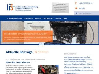 Institut für Schadenverhütung und Schadenforschung