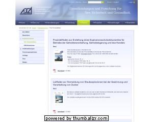 Praxisleitfäden der Forschungsgesellschaft für angewandte Systemsicherheit und Arbeitsmedizin