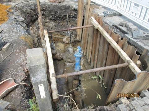 So dürfen Baugruben und deren Verbau niemals aussehen!!!