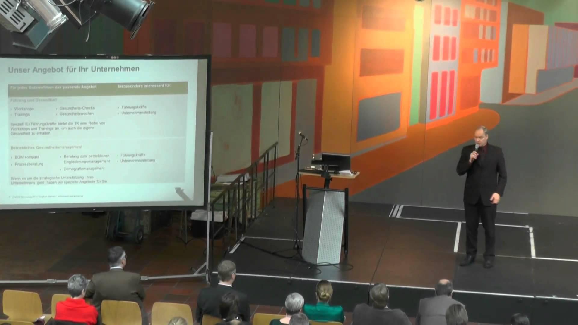 VDSI-Stresstag 2014 Vortrag von Herrn Stephan Bartels