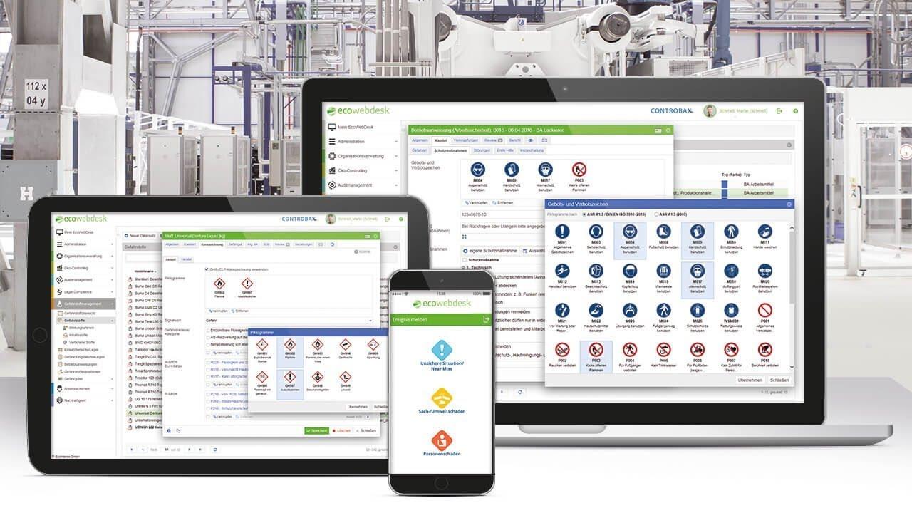 EcoWebDesk – Die führende Software-Lösung für HSE-Management