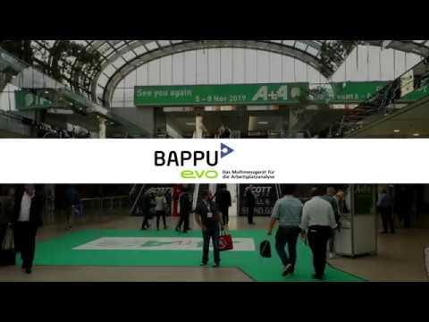 BAPPU-evo auf der A+A 2017 in Düsseldorf!