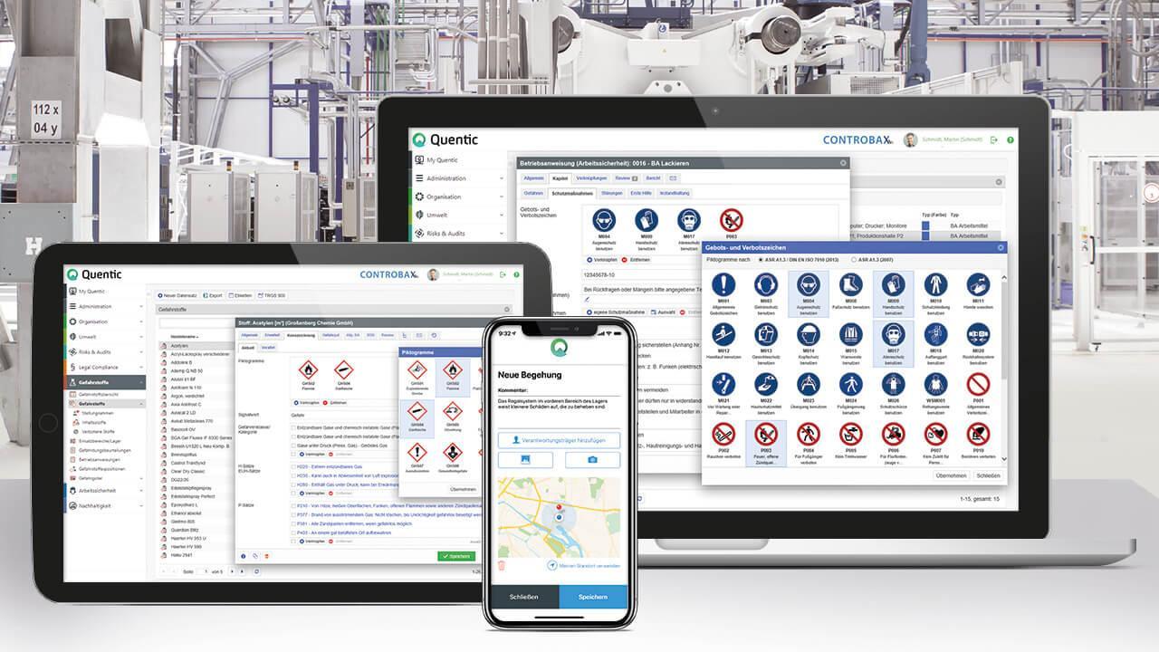 Quentic – Die führende Software-Lösung für HSE-Management